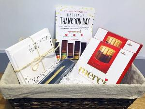 "Win a ""National Thank You Day"" Gift Basket from Merci!"