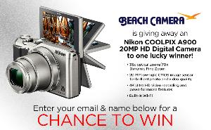Win a Nikon Coolpix A900