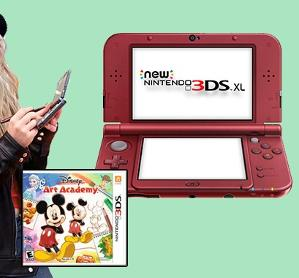Win a Nintendo 3DS XL Gaming Console!