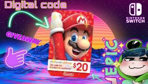 Win a NINTENDO SWITCH $20 GIFT CARD!