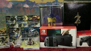 Win a Nintendo Switch and more in the Ultimate Zelda BOTW Giveaway