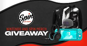Win a Nintendo Switch Lite, Audeze Penrose Headset, and Spin Gaming Merch!!