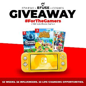 Win a Nintendo Switch Lite & Winner's Choice Game!