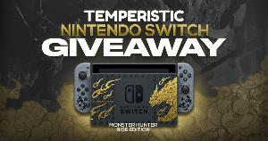 Win a Nintendo Switch Monster Hunter Rise Edition!!