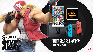 Win a Nintendo Switch, Super Smash Bros. Ultimate, and Fighters Pass!!