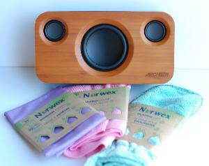 Win a Norwex Household Package & Archeer Bamboo Bluetooth Speaker