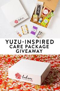 Win a nourishing care package filled with yuzu flavored goodies from Kokoro Care Packages!- 3 WINNERS!!