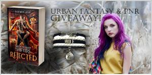 Win a number one on Amazon book and this gorgeous wolf bracelet!