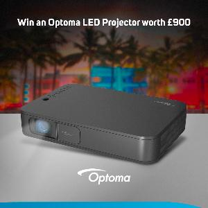 Win a Optoma LH160 LED projector worth £900 from Scan