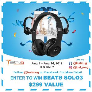 Win a Pair of BEATS SOLO 3 Headphones