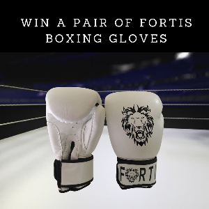 Win a Pair of Elite Fortis Boxing Gloves