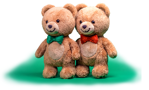 win a pair of Kraft BearHug Bears