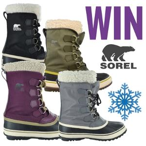 win a pair of Sorel Winter Boots