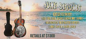 Win a Paul Beard Resonator Guitar with hard case!