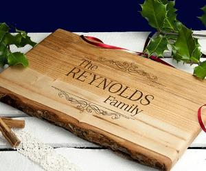 Win a personalised chopping board!