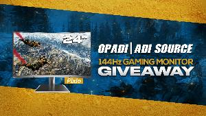 Win a Pixio 144Hz Curved Gaming Monitor!!