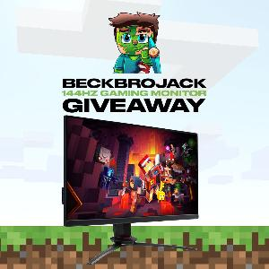 Win a Pixio 144Hz Gaming Monitor!!