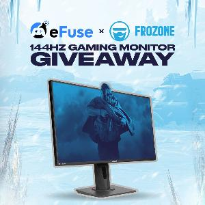 Win a Pixio 144HZ Gaming monitor!