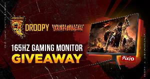 Win a Pixio 165Hz Gaming Monitor!