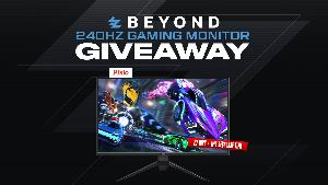 Win a Pixio 240Hz Gaming Monitor!