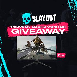 Win a Pixio PX279 Prime Gaming Monitor!