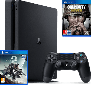 Win a Playstation 4, COD WWII and Destiny 2