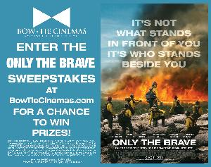 WIN A PRIZE PACK FROM ONLY THE BRAVE!