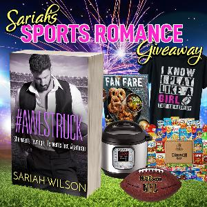 Win a prize pack that includes a t-shirt, Instant Pot, cookbook, snack box, and a football!