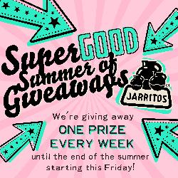 Win a Prize per week with Jarritos Canada