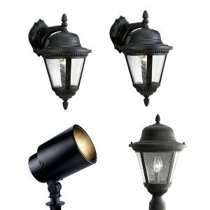 Contest win a progress lighting outdoor lighting package for Landscape lighting packages