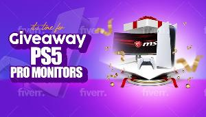 Win a PS5 and 144hz Monitor!