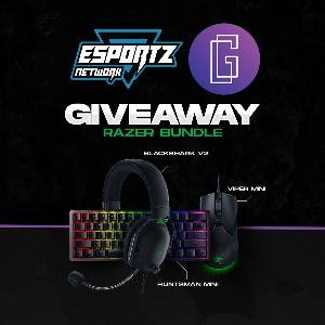 WIN A RAZER BLACKSHARK V2 Headset, RAZER HUNTSMAN MINI Keyboard & RAZER VIPER MINI Mouse!!