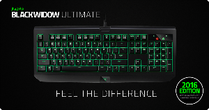 Win a Razer BlackWidow Ultimate Keyboard