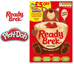 Win a Ready Brek & Play-Doh bundle!