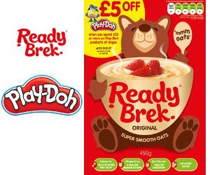 Win a Ready Brek & Play-Doh bundle!!