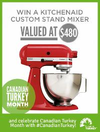 Win a Red KitchenAid Custom Stand Mixer