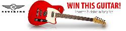 WIN a Reverend Buckshot Electric Guitar in Party Red