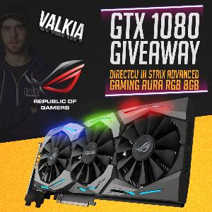 Win a ROG STRIX GTX 1080 Advanced GPU