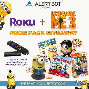 Win a Roku and Despicable Me Prize Pack