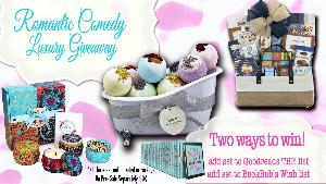Win a Rom-Com Luxury Treat & Care Package!!