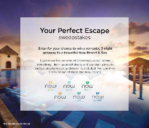 WIN: a romantic 3-night getaway to a beautiful Now Resort & Spa
