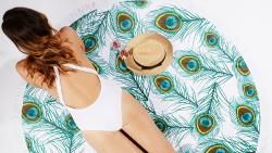 WIN: a roundie beach towel