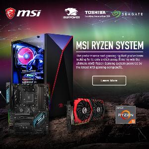WIN a RYZEN™ 5 GAMING PC