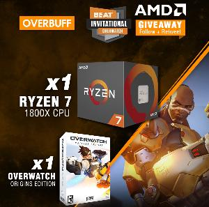 Win a Ryzen 7 1800X CPU and Overwatch