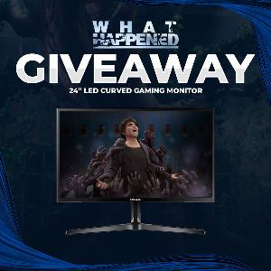 Win a Samsung 24″ LED Curved Gaming Monitor !!