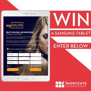 WIN: a Samsung Tablet""