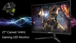 "Win a Sceptre 27"" Curved 144Hz Gaming LED Monitor"