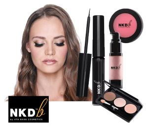 Win a selection of NKDb Cosmetics by 4th Base Cosmetics !