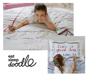 Win a set of eatsleepdoodle bed linen!