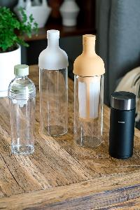 Win a set of portable cold brew coffee bottle or cold brew tea bottles from Hario USA today! 5 winners